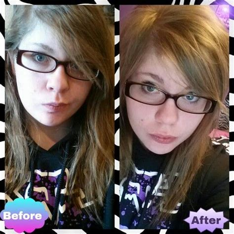 before and after emo haircut before and after my haircut emo beauty pinterest