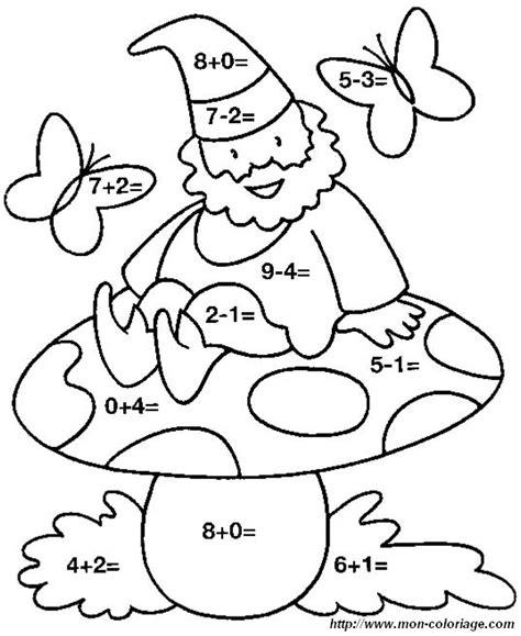 Coloriage De Coloriages Magiques Dessin Calculs Lutin Jpg