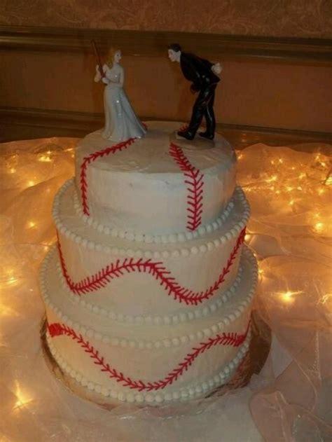 sports wedding baseball wedding cake 2067732 weddbook