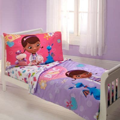 doc mcstuffin toddler bed buy crown crafts disney 174 minnie mouse quot fluttery friends quot 4