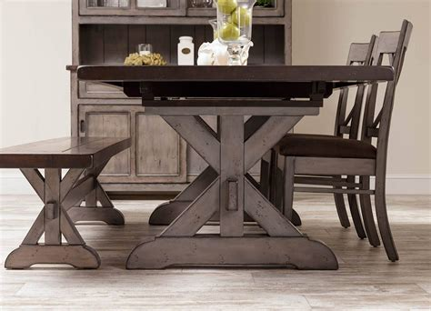 lancaster extension dining table hudson amish dining table in lancaster county pa self