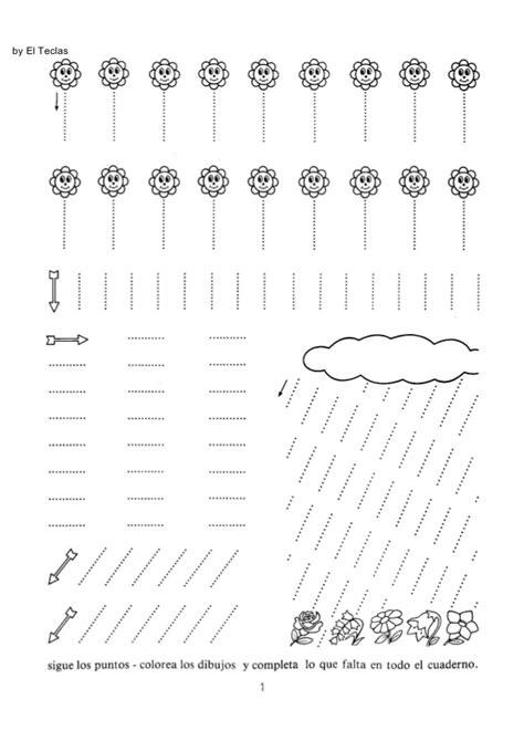 libro cuaderno de escritura 1 caligrafia cuaderno rubio 1