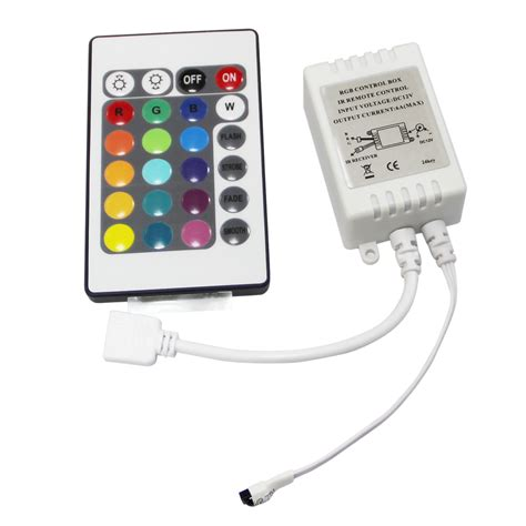 Led Controller led rgb controller ir fb 24 white 12v b4s3 ebay