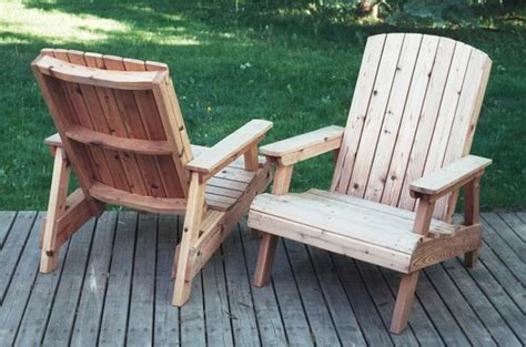 Wood Lawn Chair by Lawn Chairs