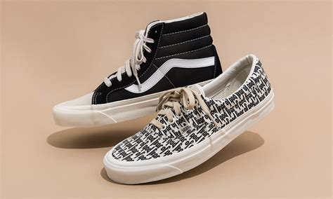 Vans Era Replika fear of god s vans collaboration available right now at pacsun