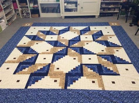 Size Log Cabin Quilt Pattern by Log Cabin Carpenter Square Pattern Quilts Quilts