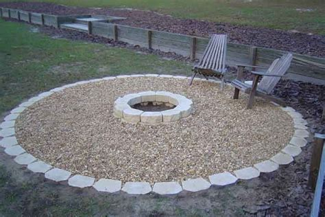 and easy pit outdoor pit in my garden