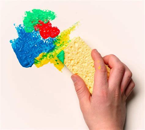 mix it up sponge painting crayola com
