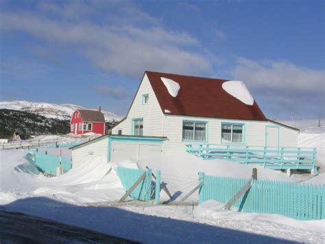 File Winter In Saint Pierre Spm White House Jpg The House Spm