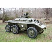 For SaleOriginal 1943 Ford M20 Armored Command Car WWII