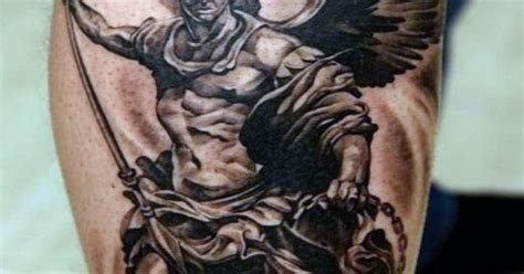 angel de la guarda tattoo 75 tatuajes de angeles de la guarda y su significado