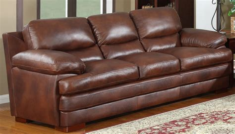 baron sofa baron brown sofa from leather italia 1831 s2892 032365c