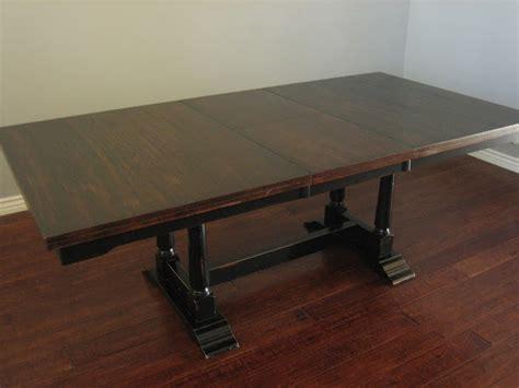 black trestle dining table european paint finishes trestle dining table