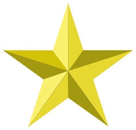 printable golden star gold star transparent clipart best