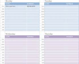 monthly appointment calendar template weekly appointment calendar weekly appointment calendar