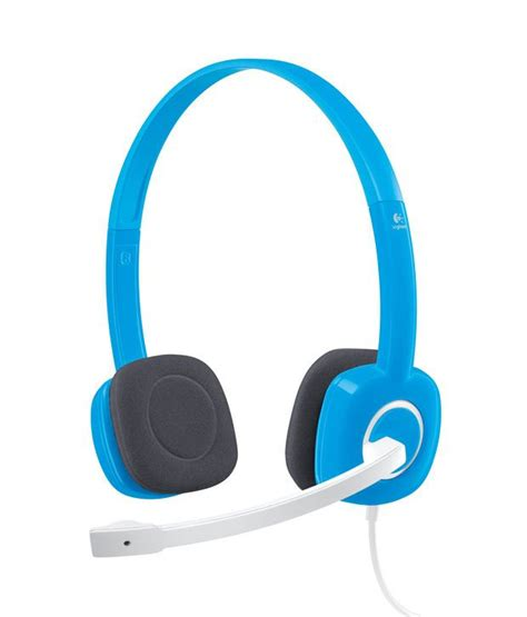 Logitech Stereo Headset H150 buy logitech stereo headset h150 sky blue at best price in india snapdeal