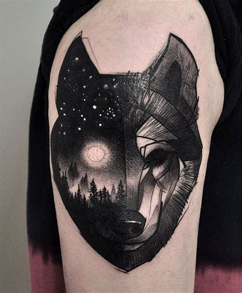 night sky tattoo designs nightsky pictures to pin on tattooskid