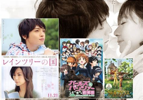 Japan Box Office by Japan Box Office Report 11 21 11 22 Tokyohive