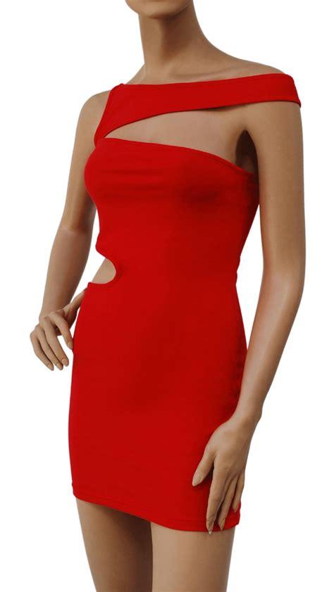Mini Dress S Xl bandage bodycon sleevelss cut out clubwear mini dress xs s m l xl