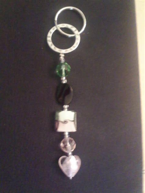 Handmade Keychain Ideas - beaded handmade keychains crafts