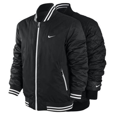 Jaket Varsity Black Nike nike black s reversible padded ad varsity jacket m l xl rrp 163 95 at 163 49 ebay