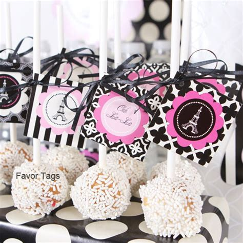 paris themed party kit warning wedding favors party supplies favors and flowers