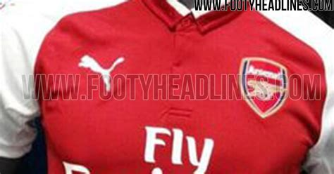 arsenal away kit 17 18 arsenal 17 18 home away and third kits leaked footy