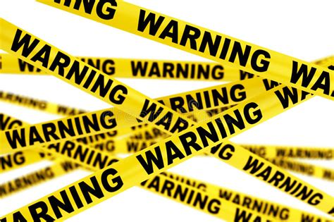 Is A Warning A Criminal Record Warning Yellow Strips Stock Illustration Illustration Of Cordon 54785576