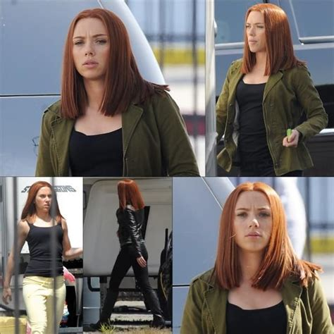 black widow hair color johansson black widow redhair hairz