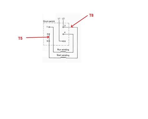 reversing drum switch wiring diagram wiring diagram besides motor reversing drum switch single