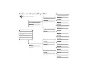 11 generation family tree template large family tree template 11 free word excel format