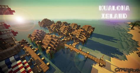 tiki hut minecraft kualoha island minecraft project