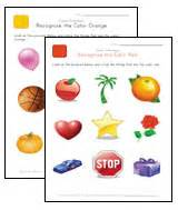 Color recognition worksheets on learning colors worksheets for