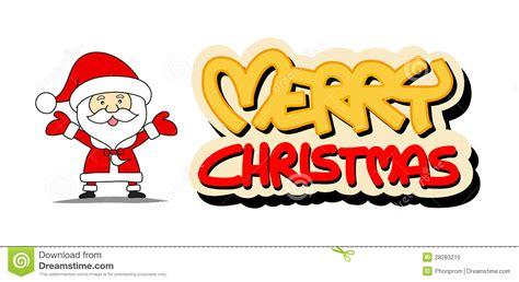 imagenes de la palabra merry christmas funny santa claus and merry christmas word stock