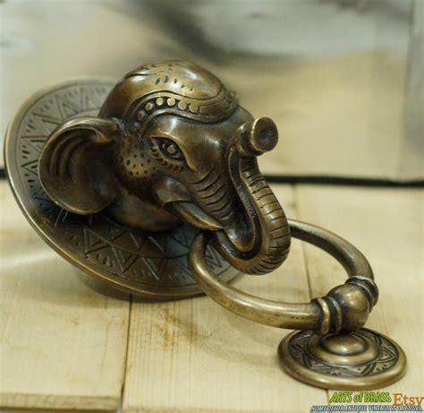 Antique Door Knockers antique large big elephant thai door knocker cast solid