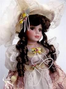 collectible porcelain victorian doll quot victoria quot 16 quot h