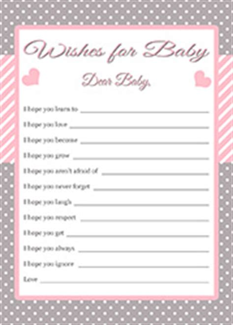 5 best images of free printable baby wishes cards free