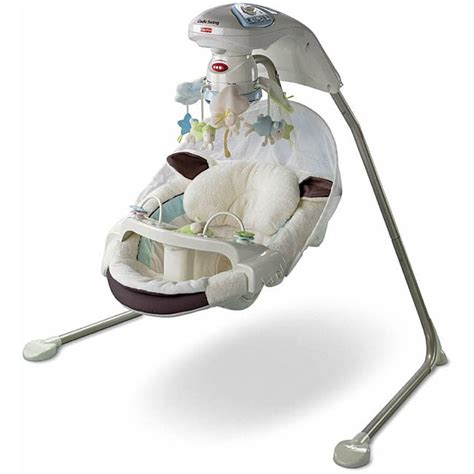 fisher price my little lamb swing parts fisher price rock in comfort travel swing pink torn stripe