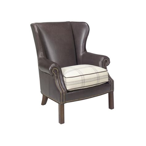 wingback accent chair coventry logan leather wingback accent