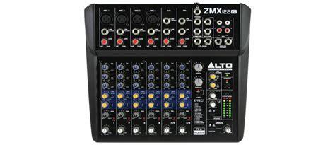 Mixer Alto Zmx alto zmx122fx zmx122fx 8 ch compact mixer with effects