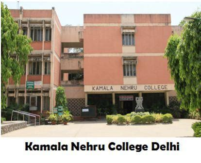 Delhi School Of Economics Mba Cut by Kamala Nehru College Delhi Cut 2015 2016 Admission