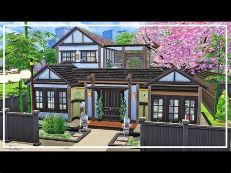 japanese house for the suburbs traditional japanese japanese house sims 4 speed build download youtube