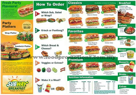 Harga Board Cafe by Food Subway New Menu 2011