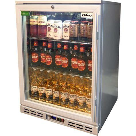 Bar Fridge Glass Door Glass Door Commercial Alfresco Silver Bar Fridge With Lg Compressor
