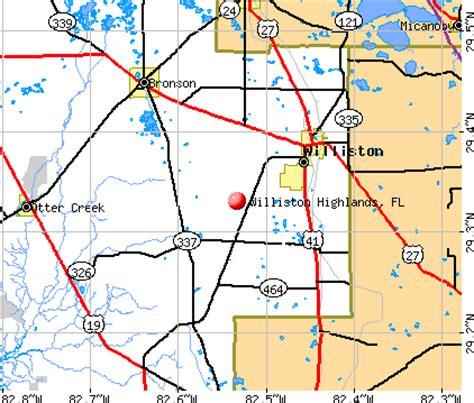 williston florida map map of williston florida