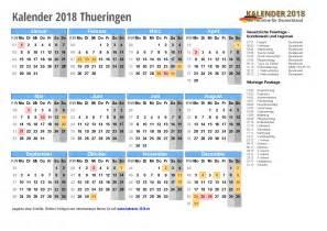 Kalender 2018 Zum Ausdrucken Din A4 Kalender 2018 Th 252 Ringen Zum Ausdrucken 171 Kalender 2018