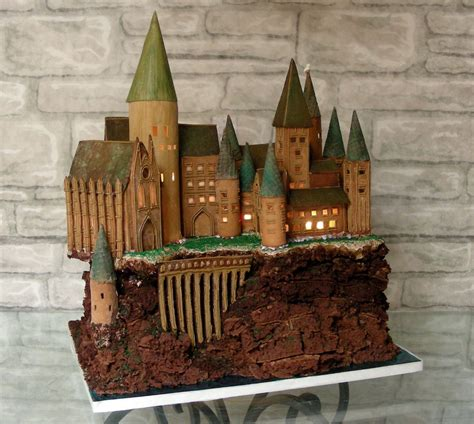 houses of harry potter harry potter gingerbread house ideas popsugar tech