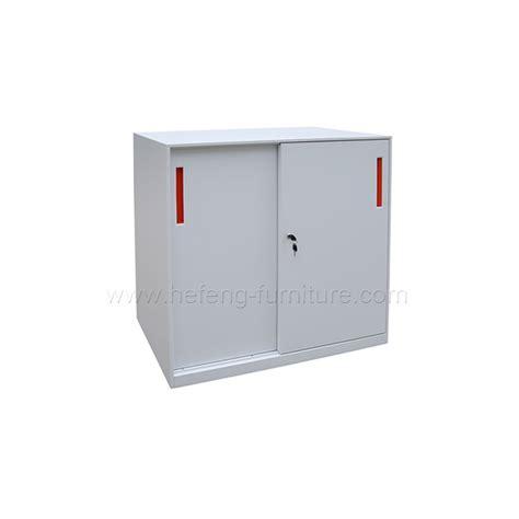 Lemari Arsip Sliding Kaca lemari arsip pintu sliding kaca rendah hefeng furniture