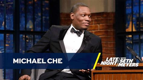 michael che youtube michael che explains what inspired the trump supporter