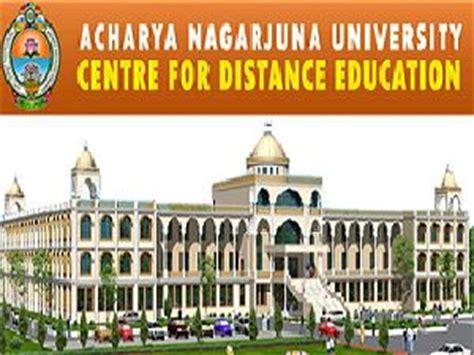 Acharya Nagarjuna Mba by Acharya Nagarjuna Master Of Business